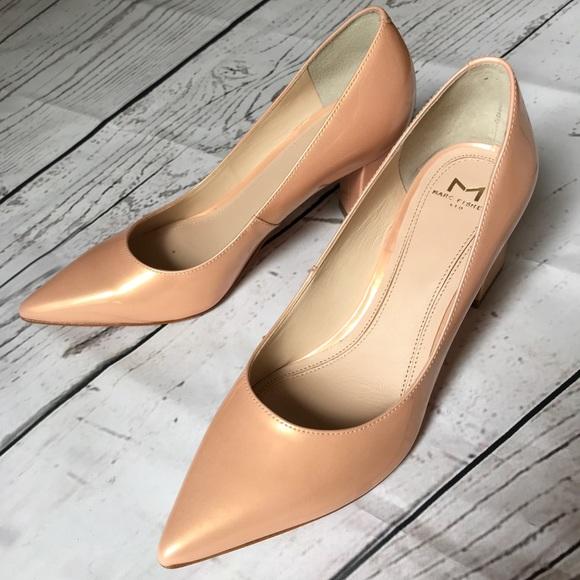 ba614ee354 Marc Fisher Shoes | Zala Medium Pink Patent Pump | Poshmark